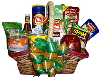 Send Christmas Gift Basket, Baskets to cebu Philippines
