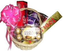 Assorted Choco Basket 10