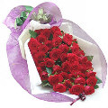 48 Fresh Red Roses Bouquet