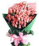 36 Peach Roses in Bouquet