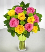 12 Rose Always true flower vase