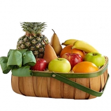 Fruits Gift Natural well Decorated Basket