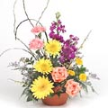 A wonderful flower basket
