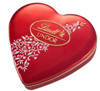Lindt: Lindor, Swiss Chocolate 96g/8 pcs