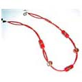 Red Murano Beads Necklace FREE Earrings