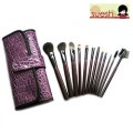 Suesh 12-pc Purple Set (12-pc Makeup Brush Set in Purple Case)