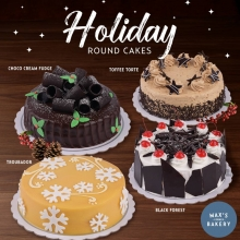 Holiday Round Cakes by Max's