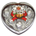 Ailesi  Chocolate Heart Silver 8 pcs