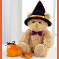 Tricksy the Halloween Bear with Chocolates