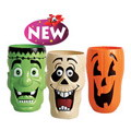Frankenstein, Skull or Pumpkin Cups