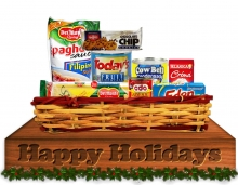 Christmas Basket - Holiday Mix Basket