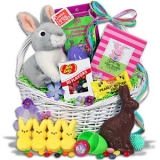 Classic Easter Bunny Gift Basket