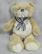 "9"" Bear with Scarf with Badge"