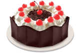 Mother's Day Black Forest Cake By Red Ribbon