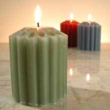 6 Pcs Different Color Candles!