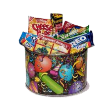 Celebration Fun Snack Tin