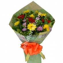 12 Mixed Flower in Bouquet