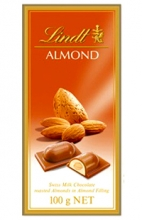 Lindt Almond Chocolate 100g