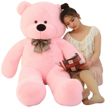 Pink Color Giant Bear