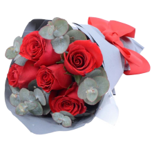 5 Red Rose Bouquet