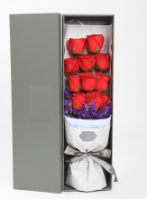 11 Piece Red Rose Box