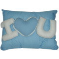 Wesley Pillow w/ I Love You by Bear Huggs