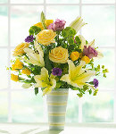 Fresh  Flowers in Vase