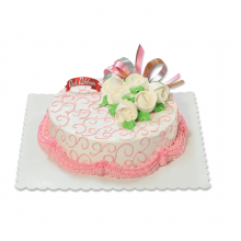 Love & Romance Cake By Red Ribbon