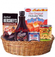 Holiday Gifts in Basket
