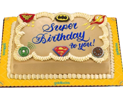 For Him Greeting Cake By Goldilocks