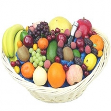 Mouth Watering Fruits in a Basket