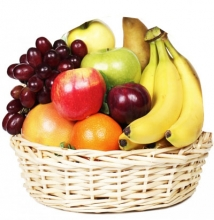8 Seasonal Fruits in a Basket