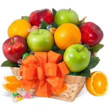 Rare and Exotic Fruit Basket