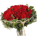 36 Red Roses in Bouquet