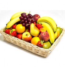 Fruits Gift Decorated Basket