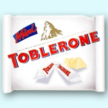 Toblerone Mini White Chocolate Pack 200g
