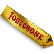Toblerone Chocolate Gold Bar 400g