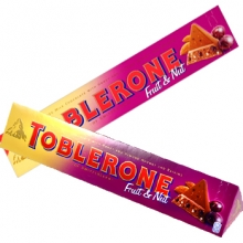 Toblerone Fruit & Nut Bar 400g