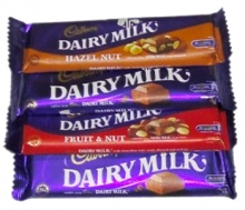 Cadbury Dairy Milk 4 Varieties 40g