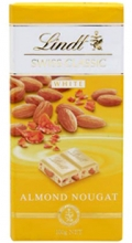 Lindt Swiss Classic: Almond Nougat 100g