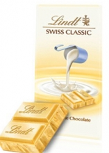 Lindt: Swiss Classic White Chocolate 100g