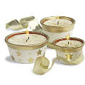 Star Candle Pots - Set of 3