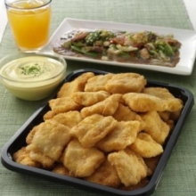 Cream Dory Nuggets Cater Tray With Honey Mustard Dip by Max's