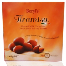 Beryl's Tiramisu: Almond Milk Chocolate 65g