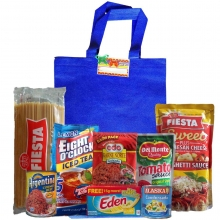 Groceries Spaghetti Package with Blue Bag