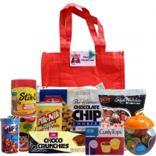CM Groceries Chocolate Chips Package with Red Bag