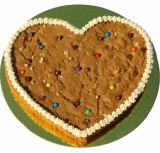 You�re In My Heart Chocolate Chip Cookie Cake