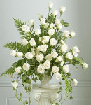 Traditional Rose Sympathy Arrangement
