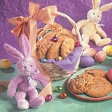 1basket cookies w/ bunny
