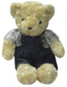 "15"" Bear w/ Assorted Clothes"
